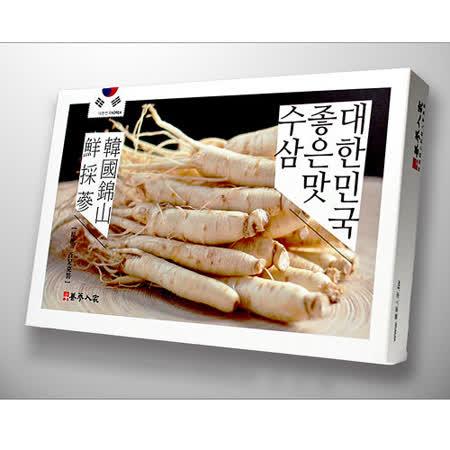【養蔘人家】韓國新鮮人蔘長生組100g