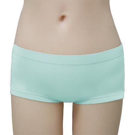 【瑪登瑪朵】BB0026 2014SS低腰平口無縫褲(溫藍)