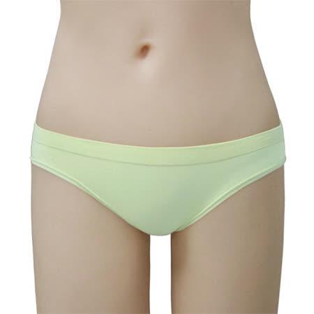 【瑪登瑪朵】BA0026 2014SS低腰三角無縫褲(粉蠟綠)