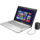 ASUS N750JK 17.3吋 i7-4700HQ GTX850 4G獨顯 頂級效能影音筆電-加送多功能讀卡機+液晶螢幕清潔液+拭布+刷筆(組)