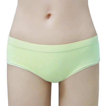 【瑪登瑪朵】BH0026 2014SS低腰寬邊三角無縫褲(粉蠟綠)