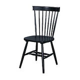 002-1 V型黑色餐椅