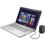 ASUS N750JK 17.3吋 i7-4700HQ GTX850 4G獨顯影音筆電(N750JK-0021A4700HQ) -加送4G記憶體+8G碟+散熱板+手寫板+滑鼠墊+清潔組