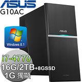 ASUS華碩 G10AC【魔神之塔】Intel i7-4770四核 1G獨顯 Win8.1電腦(G10AC-477IQNE)