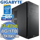 技嘉Z97平台【驚天龍吟】Intel第四代i7四核 GTX770OC-4GD獨顯 1TB燒錄電腦