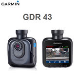GARMIN GDR 43 高畫質廣角行車記錄器【送三孔+讀卡機+擦拭布】