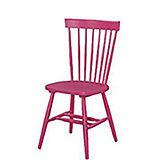 002-3 V型粉紅色餐椅