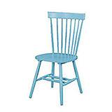 002-4 V型粉藍色餐椅