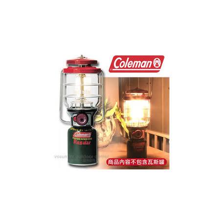 【美國 Coleman】新款 2500北極星瓦斯燈 Northstar (200W).電子點火器.露營燈/ CM5521JM000 紅