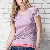 【MORINO摩力諾】抗UV速乾女短袖衫-紫