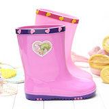 【童鞋城堡】真珠美人魚雨鞋PI7119