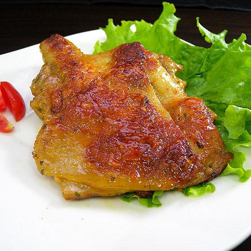 ~泰式檸檬去骨雞腿排^(240g±10^%^)~100^%穀物飼養^!純正泰式醃製,肉質鮮