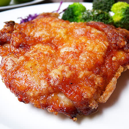 ★調味去骨雞腿排(300g±10%)★100%穀物飼養!略加調味肉質鮮美,鮮嫩多汁