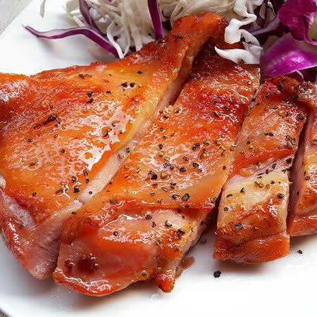 ★米蘭煙燻去骨雞腿排(240g±20g)★100%穀物飼養!頂級義式香料醃製,肉質鮮美,鮮嫩多汁