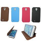 N20木紋款左右翻 三星Samsung S4(i9500)手機保護皮套(加贈螢幕保護貼)