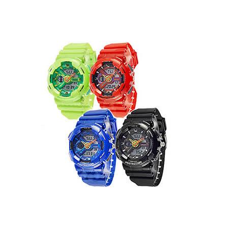 【寶奈司BANARS】時尚學生必備款指針電子錶