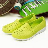 【PONY】女--防水透氣GOGO走路鞋--TROPIC D--黃綠--42U1SA02YW