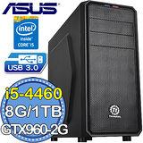華碩H97平台【龍神列傳】Intel第四代i5四核 GTX760-DC2OC-2GD5獨顯 1TB燒錄電腦