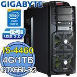 技嘉H97平台【麟甲統帥】Intel第四代i5四核 GTX660-3G獨顯 1TB燒錄電腦