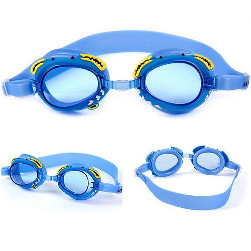 兒童卡通防霧游泳鏡