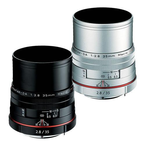 PENTAX HD DA 35mm F2.8 Macro Limited (公司貨) - 【新】HD鍍膜鏡頭
