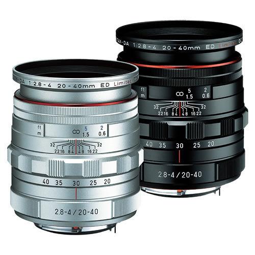 PENTAX HD DA 20-40mm F2.8-4ED Limited DC WR (公司貨)   - 【新】HD鍍膜鏡頭
