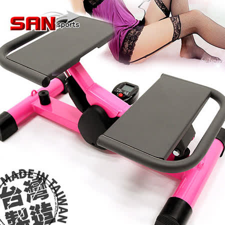 【SAN SPORTS】翹臀甜心踏步機P259-502美腿機.全能活氧.運動健身器材