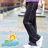 【RATOPS】COOLPLUS 中性款 輕量透氣排汗長褲.運動褲.休閒長褲.防晒褲/ DB8508 鐵灰/淺粉紫