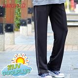【RATOPS】COOLPLUS 中性款 輕量透氣排汗長褲.運動褲.休閒長褲.防晒褲/ DB8505 鐵灰/學院灰