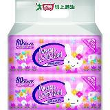 康乃馨寶寶潔膚濕巾補充包80片2包