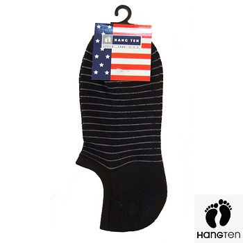 HANG TEN菱形運動襪-黑(22~24cm)
