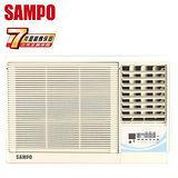 SAMPO聲寶 4-6坪右吹旗艦系列定頻窗型冷氣(AW-PA29R)送安裝