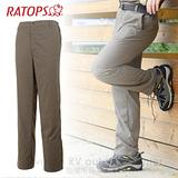 【RATOPS】男款 SUPPLEX 防曬快乾休閒長褲/DA3202 土壤色