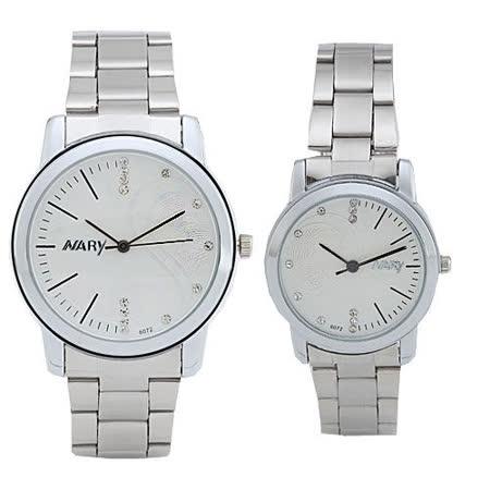 【NARY 那瑞】時尚休閒情侶對錶