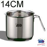 《德國ELO》Rubin 不鏽鋼單柄有嘴牛奶鍋 (14cm)