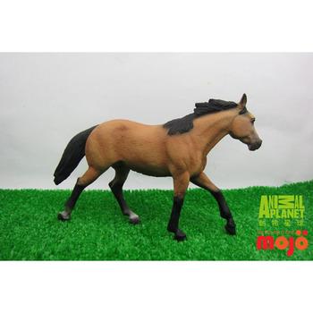【MOJO FUN 動物模型】動物星球頻道獨家授權 - 夸特馬(鹿皮色)
