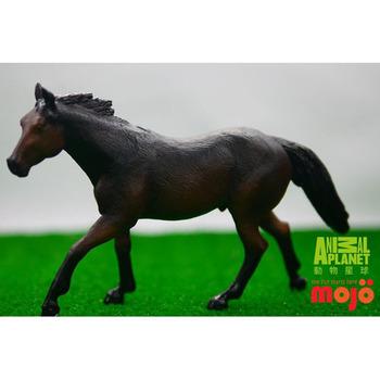 【MOJO FUN 動物模型】動物星球頻道獨家授權 - 夸特馬(炭黑色)