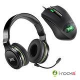 i-rocks ROCK系列電競滑鼠耳機組合