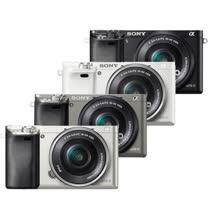 SONY A6000L 16-50mm單鏡組(公司貨)送32G 原廠高速卡+專用電池+座充+復古皮套+清潔組+保護貼+讀卡機+迷你腳架-10/29止