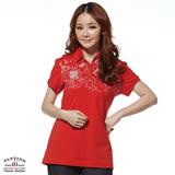 【FANTINO】女款 休閒雅致POLO衫(白、紅)271137-271138