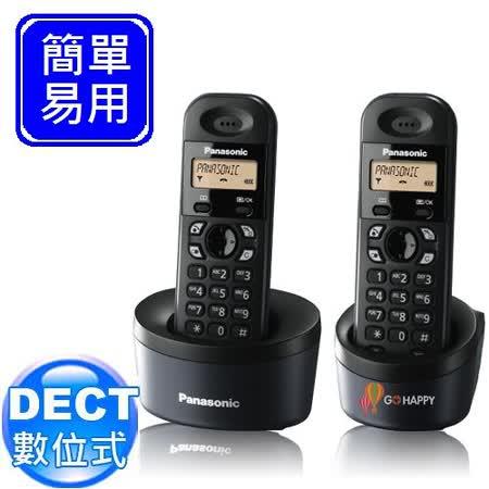 Panasonic DECT數位式無線電話 KX-TG1312 (經典黑)
