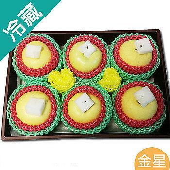 日本青森金星蘋果禮盒