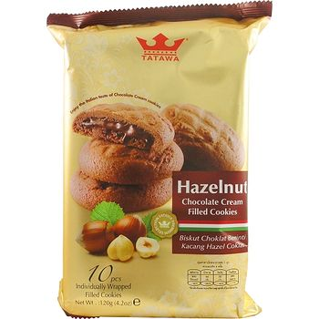 TATAWA榛果巧克力熔岩餅12g*10入