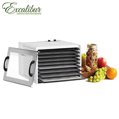 《Excalibur》伊卡莉柏全營養低溫乾果機(白)-附原門板(3926TWplus)