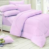 KOTAS-酷涼 涼感竹炭雙人床墊+涼感被 二件組-粉