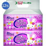 康乃馨寶寶潔膚濕巾補充包80片*12包(箱)