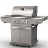 【烤爐行家】4支重型燃燒器+邊爐-戶外休閒-高級GAS瓦斯烤肉爐(限用液化瓦斯)