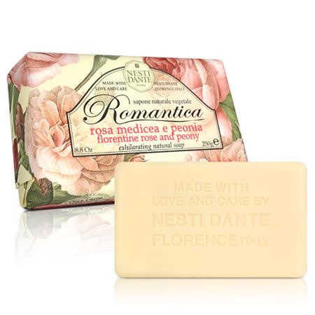 (任)Nesti Dante  義大利手工皂-愛浪漫 生活風系列-佛羅倫斯玫瑰和牡丹(250g)