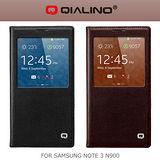 QIALINO 洽利 SAMSUNG NOTE 3 N900 粒子紋系列背蓋皮套