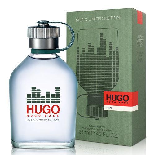 BOSS HUGO 優客音樂限量版男性淡香水(125ml)-送品牌針管隨機款